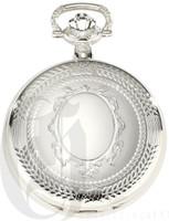 Charles-Hubert Paris Hunter Case Quartz Pocket Watch by Charles Hubert