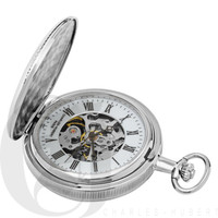 Double Hunter Case Mechanical Pocket Watch by Charles Hubert