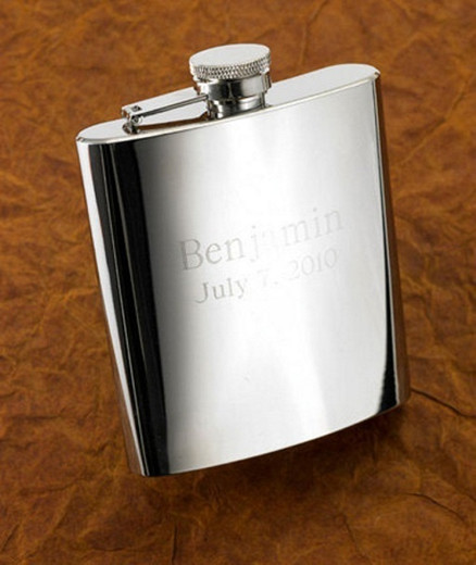 engrave flask