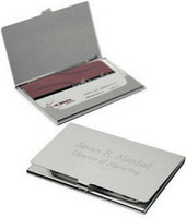 engraved card holder
