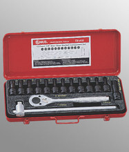 "Genius Tools 1/2"" Drive Star Head Socket Set 15 Pc TX-415"