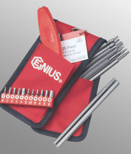 Genius Tools Metric Square & Hex Screwdriver Bit Set 25 Pc SB-225RHM