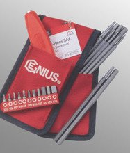 Genius Tools SAE Hex Screwdriver Bit Set 23 Pc SB-223SH