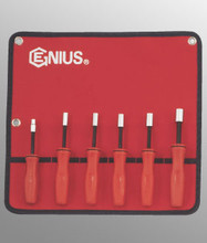 Genius Tools SAE Hex Nut Driver w/ MagnetSet6 Pc NM-006S