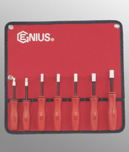 Genius Tools SAE Hex Nut Driver Set 7 Pc ND-007S