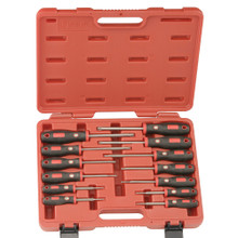 Genius Tools Star Screwdriver Set (Soft handle) 13 Pc TR-513ST