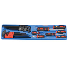 Genius Tools Combination Screwdriver Set (MS-142TS) 26 Pc TS-5026