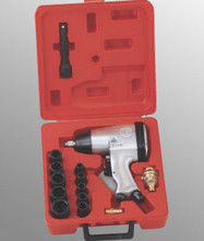 "Genius Tools Metric 1/2"" Drive 230 Ft-Lbs Impact Wrench Set 16 Pcs TF-416K1"