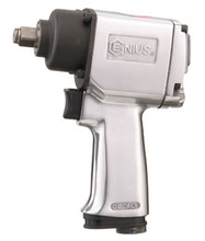 "Genius Tools 1/2"" Drive 400 Ft-Lbs / 542 Nm Lightweight Impact Wrench 400401"