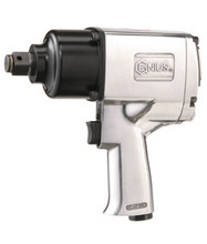 """Genius Tools 1"""" Drive 1200 Ft-Lbs / 1627 Nm Lightweight Impact Wrench 801200"""