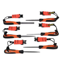 Bahco Tools Tools @ Height Engineering File 6 Pc Set 1-476-04-3-2-TH
