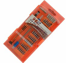 MLTOOLS® 58-Pieces Multi-Magnetic-Bit Precision Screwdriver Set PS581