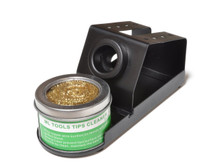 MLTOOLS® Soldering Iron Stand Holder / Tip Cleaner with Brass wire sponge S8239