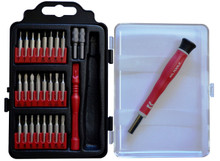 MLTOOLS® 28 in 1 Precision Multi-Magnetic-Bit Screwdriver Set PS8008