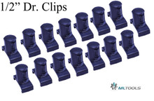 MLTOOLS® Dura-Pro Twist Lock Socket Clips Fits Ernst organizer Made in USA