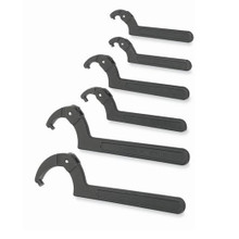 Williams Tools SAE Black Adjustable Pin Spanner Wrench Set WS-476