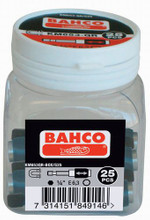 "Bahco Tools 25-pieces Quick Release 1/4"" hex bit Holder w/Box KM653QR-BOX/S25"