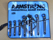 Armstrong USA Tools 7 Pc. Ratcheting Flare Nut Wrench Set 28-386