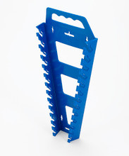Hansen Global USA Blue Organizers Universal Wrench Rack 5300