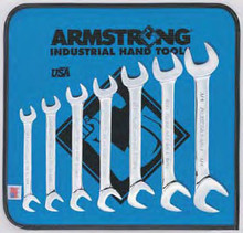 Armstrong USA Tools 7 Pc. Full Polish 15° and 60° Angle Wrench Set 27-885