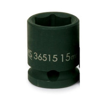 """Williams Tools Metric 3/8"""" Drive Shallow Impact 6 Point Sockets 13 Sizes Available ( From 7MM to 19MM)"""