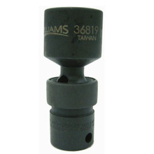"""Williams Tools Metric 3/8"""" Drive Universal Impact 6 Point Sockets 10 Sizes Available ( From 10MM to 19MM)"""