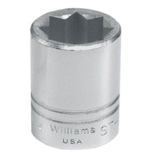 "Williams Tools USA SAE 1/2"" Drive Shallow 8 Point Sockets 14 Sizes Available ( From 3/8"" to 1-1/4"")"