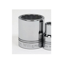 "Williams Tools USA Metric 1/2"" Drive Shallow 12 Point Sockets 24 Sizes Available ( From 10MM to 36MM)"
