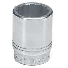 "Williams Tools USA Metric 3/4"" Drive Shallow 12 Point Sockets 15 Sizes Available ( From 19MM to 60MM)"