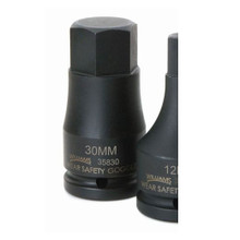 """Williams Tools Metric 3/4"""" Drive One-Piece Impact Hex Bit Dirvers10 Sizes Available ( From 10MM to 32MM)"""