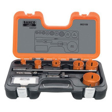 Bahco Tools Electrician's Holesaw Set 9-Pcs 862109