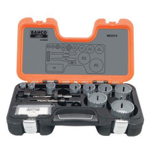 Bahco Tools Carbide-Tipped Holesaw Set 13-Pcs 863313