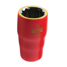 "Bahco Tools Metric 1000V 1/2"" Drive Sockets 18 Sizes Available"