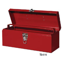 "Williams Tools 16"" Flat Top ToolBox with Tray TB-6116"