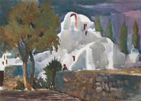 Paraportiani, Mykonos, Greece