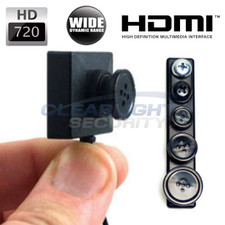 LawMate™ HD 720P Wide Dynamic Range Button and Screw Camera Set