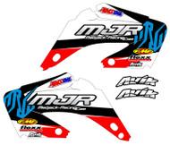 Honda MJR Series Semi Custom Shroud Decals