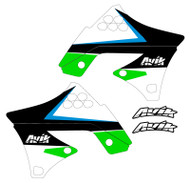 Kawasaki MJR Series Non Custom Shroud Decals
