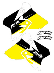 Suzuki MJR Series Non Custom Shroud Decals.