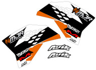 KTM MJR Series Semi Custom Shroud Decals
