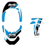 Non Custom MJR Series Leatt Brace Decal Kit