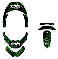 VK RIse Series Non Custom Leatt Brace Decal Kit
