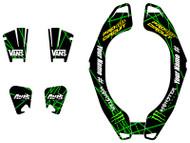 VK Rise Series Custom Atlas Brace Decal Kit