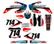 Honda MJR Series Custom Graphics