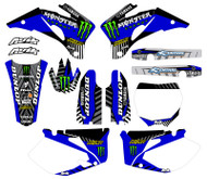 Yamaha VK Series Custom Graphic Kit