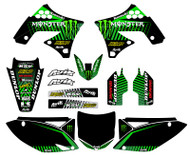 Kawasaki Baja V3 Custom Graphic Kit