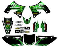 Kawasaki Baja V3 Custom Graphic Kit