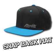 Avik Logo Snapback Hat
