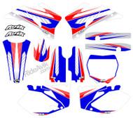 Yamaha Kudla ISDE13 RWB Series Non Custom Graphics