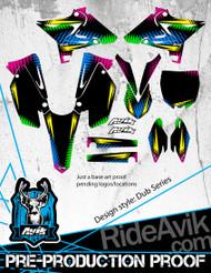 Yamaha Dub Series Custom Graphic Kit